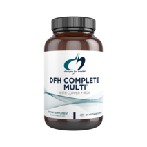 DFH Complete Multi™ with Copper & Iron 120 capsules